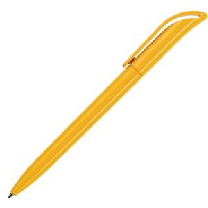 Ручка шариковая, пластик, желтый, КОКО