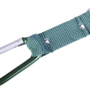 Брелок «Карабин», зеленый