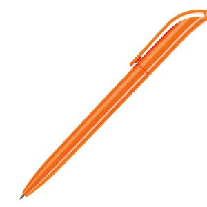Ручка шариковая, пластик, оранжевый, КОКО