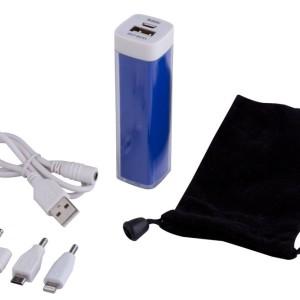 Внешний аккумулятор Bar, 2200 мАч, синий