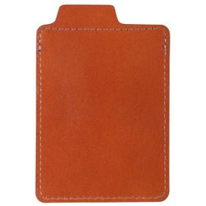 Чехол для пластиковой карты Security, коричневый