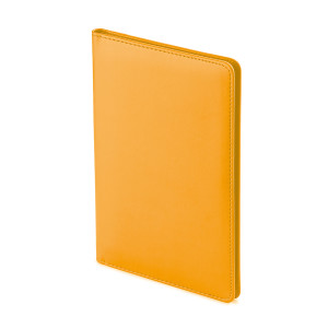 Визитница Velvet, оранжевыый, 72 визитки
