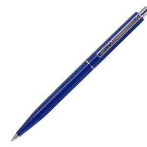 """Ручка шарик/автомат """"Point"""" Х20 Senator 1,0 мм, пласт., глянц., т.-синий, стерж. синий"""