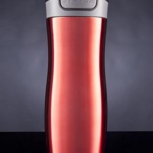 Термостакан Tansley, герметичный, вакуумный, красный