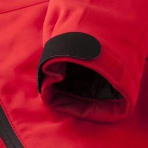 Куртка софтшелл женская Skeleton Lady, черная