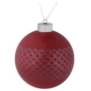 Елочный шар Queen, 10 см, красный