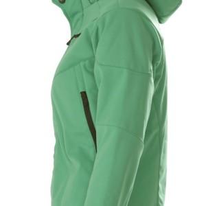 Куртка софтшелл женская Skeleton Lady, зеленая
