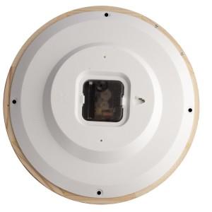 Часы настенные с деревянным ободом, «Дуб»
