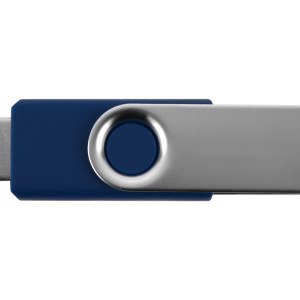 Флеш-карта USB 2.0 4 Gb «Квебек», синий