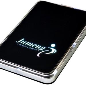 Внешний аккумулятор с подсветкой логотипа Uniscend Ace, 3000 мАч