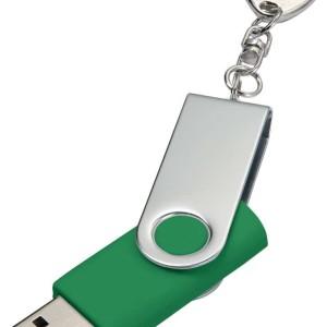 Флешка Twist, зеленая, 8 Гб