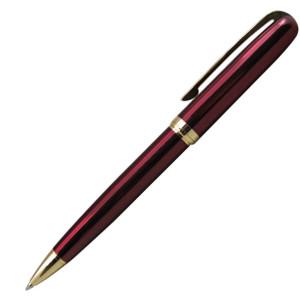Ручка шариковая, металл, красный, золото, КОНСУЛ