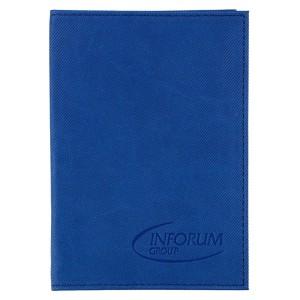Обложка для паспорта Twill, синяя