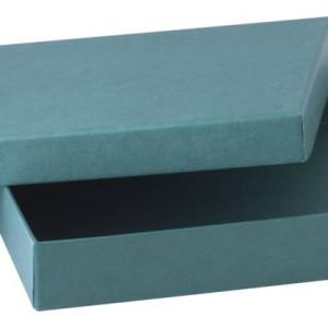Коробка под ежедневник, зеленая