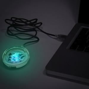"""USB Hub """"Оникс"""" на 3 порта, серебристый"""