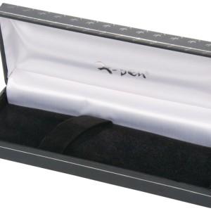 Ручка шариковая Fame с футляром, черная