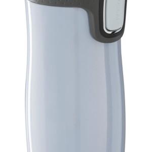 Термостакан Contigo West Loop, вакуумный, герметичный, белый металлик
