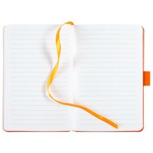 Блокнот Freenote, в линейку, оранжевый