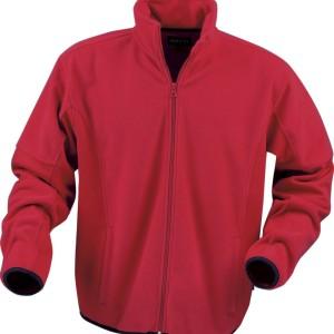 Куртка флисовая мужская LANCASTER, красная