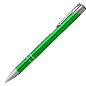 Ручка шариковая, COSMO, металл, зеленый