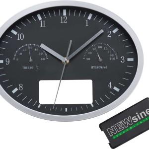 Часы настенные, INSERT3 с термометром и гигрометром