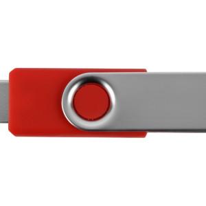 Флеш-карта USB 2.0 4 Gb «Квебек», красный