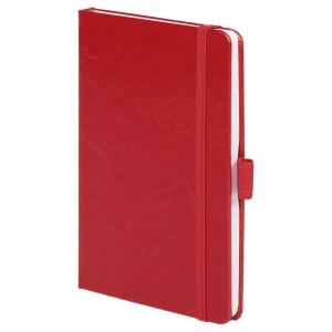 Блокнот Freenote, в линейку, красный
