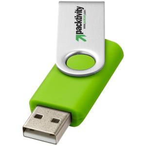 """USB-флешка на 32 Гб """"Rotate Basic"""", лайм"""
