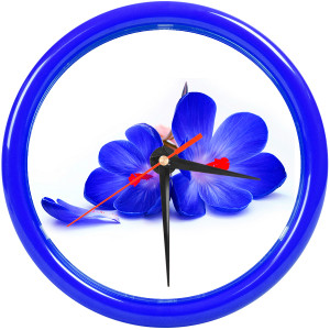 """Часы настенные """"PRINT"""" для рекламной вставки"""