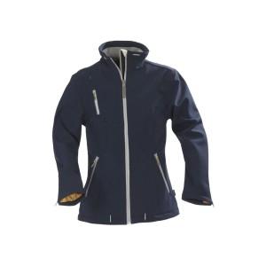 Куртка софтшелл женская SAVANNAH, темно-синяя
