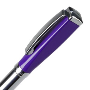 Ручка шариковая Bison, фиолетовая