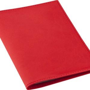 Обложка для автодокументов Twill, красная