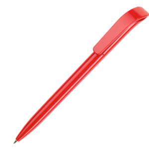 Ручка шариковая, пластик, красный, КОКО