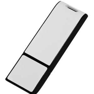 Флешка Blade, черная с белым