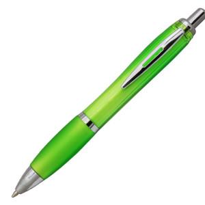 Ручка шариковая, пластик, зеленый, Moscow