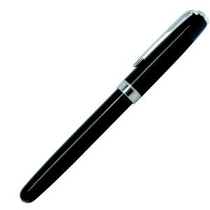Ручка роллер, металл, черный, BLACK KING