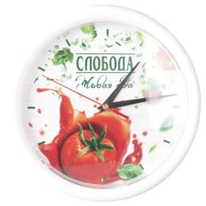 Часы Vivid small, белые