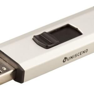 Флешка Uniscend Alum, серебристая