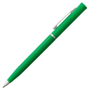 Ручка шариковая Euro Chrome, зеленая