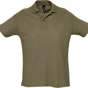 Рубашка поло мужская SUMMER 170, хаки