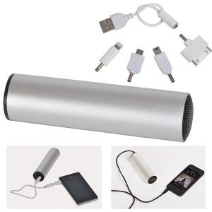 """Универсальное зарядное устройство """"Soundcheck"""" (2200mA) с динамиком"""