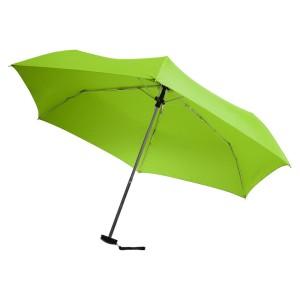 Зонт складной Unit Slim, зеленое яблоко