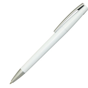 Ручка шариковая, пластик, белый, Z-PEN