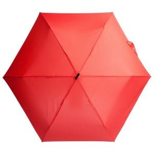 Зонт складной Unit Slim, красный