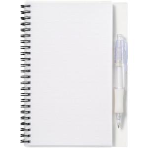 """Блокнот А5 """"Hyatt"""" с ручкой шариковой, белый"""
