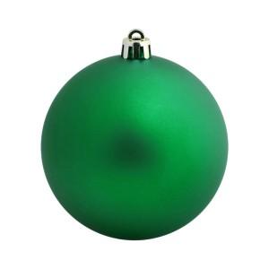 Елочный шар Matt Smooth 8, зеленый