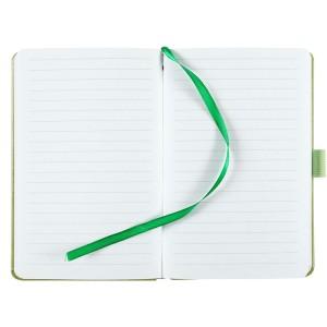 Блокнот Freenote, в линейку, светло-зеленый