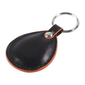 Брелок New Age, черный с оранжевой окантовкой