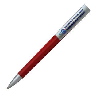 Ручка шариковая, пластик, красный, Z-PEN