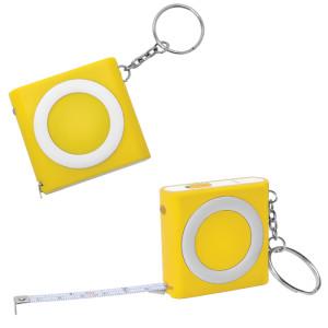Брелок-рулетка (1м) с фонариком